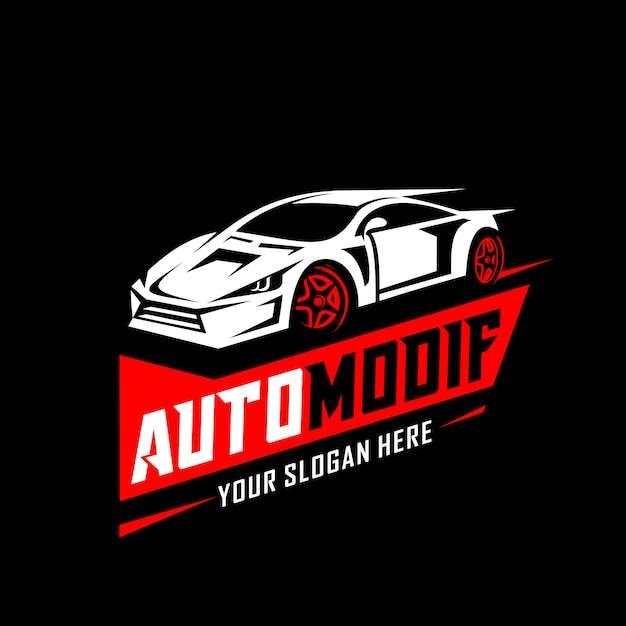 Logo automobile Vecteur Premium