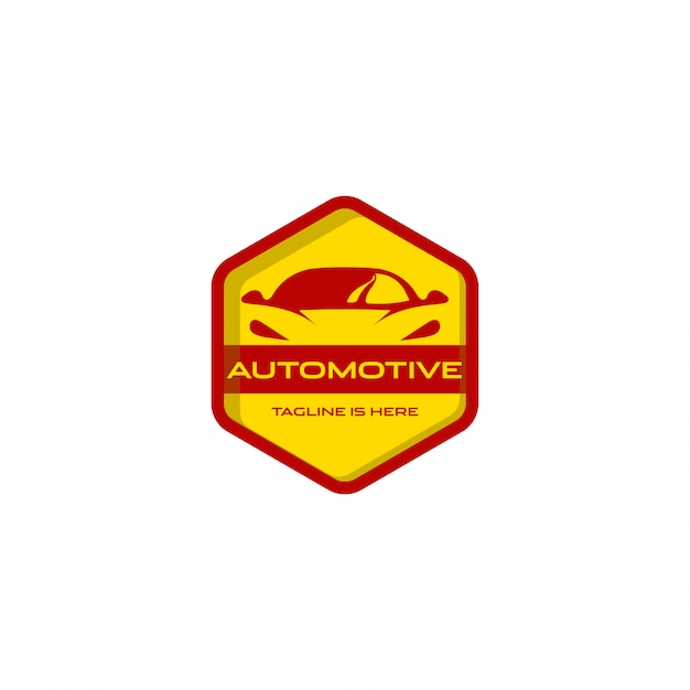 Logo automobile Vecteur Premium