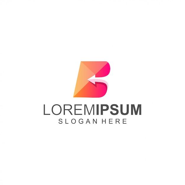 Logo B Vecteur Premium