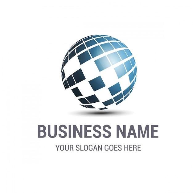 Logo business design Vecteur gratuit