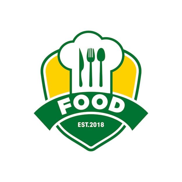 Logo chef restaurant restaurant Vecteur Premium