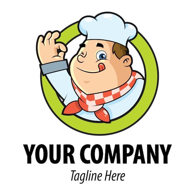 Logo chef Vecteur Premium