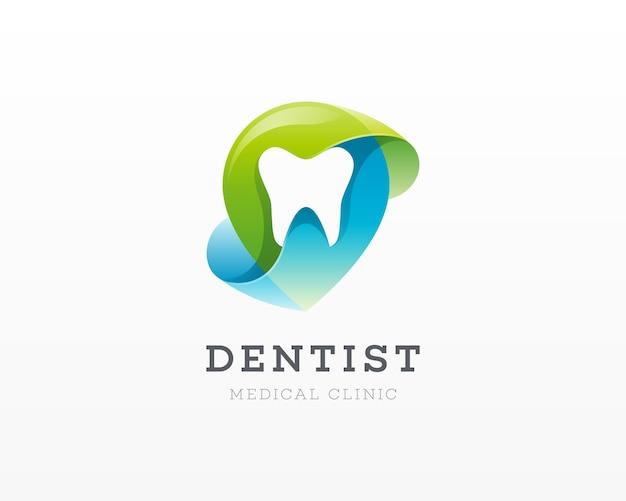 Logo De La Clinique Dentaire Vecteur Premium