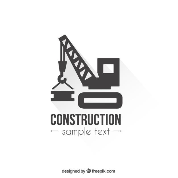 Logo Construction Modèle Vecteur gratuit