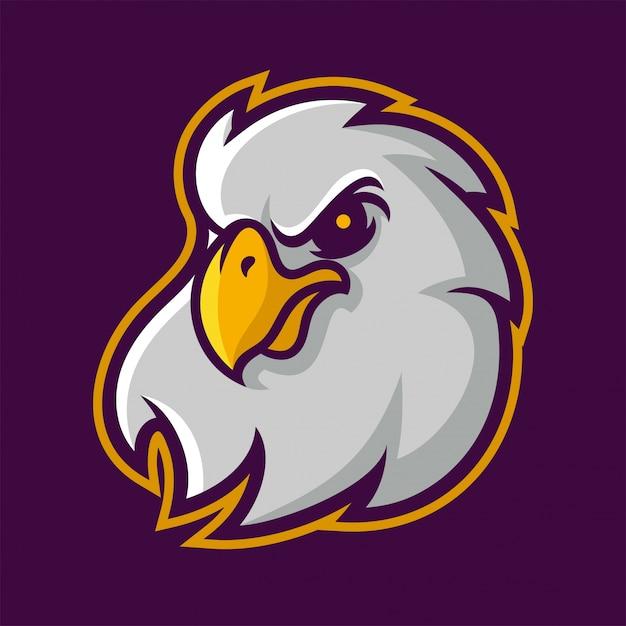 Pour Des Mascotte De D'aigle Logo Télécharger L'équipe Sport tzqFU