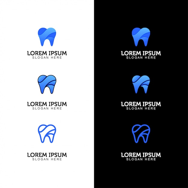 Logo Dentaire Vecteur Premium