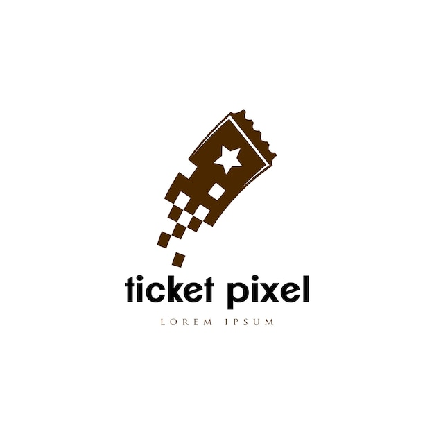 Logo du billet Vecteur Premium