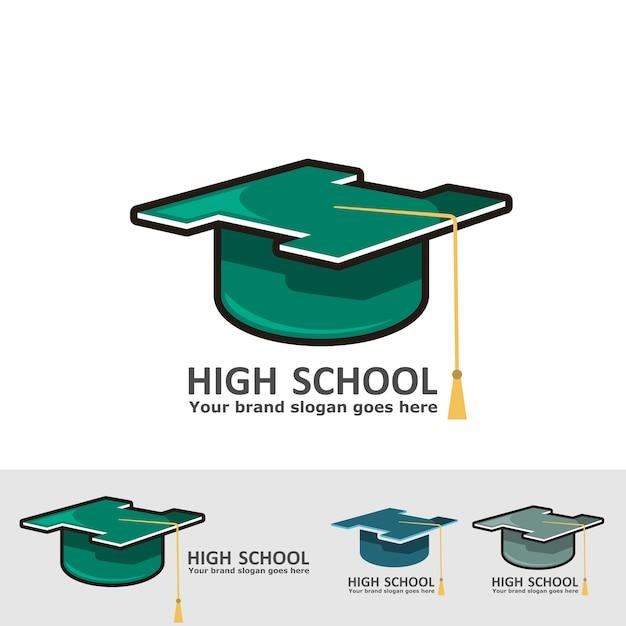 véritable prix de gros en ligne à la vente Logo du chapeau de fin d'études secondaires | Télécharger ...