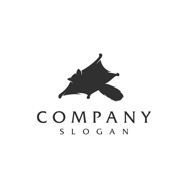 Logo du planeur en sucre Vecteur Premium
