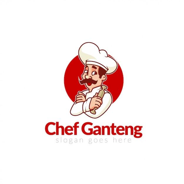 Logo du restaurant d'entrée Vecteur Premium