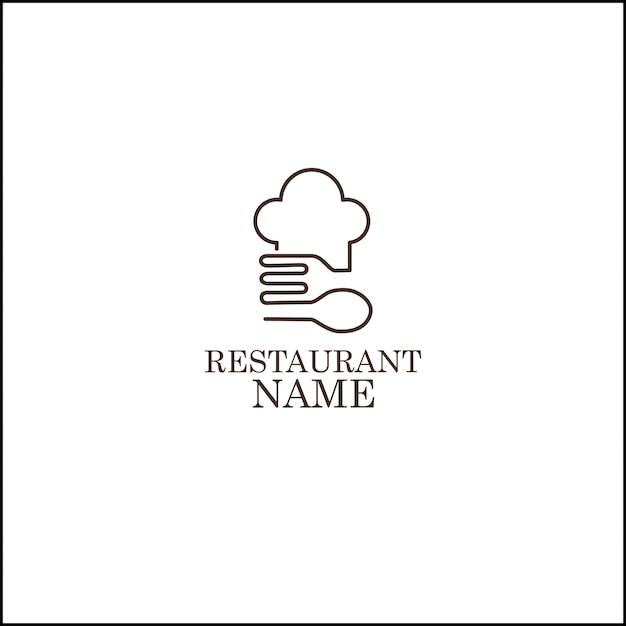 Logo du restaurant Vecteur Premium