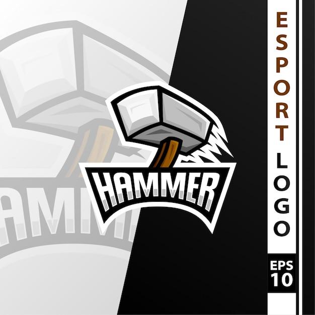 Logo de l'e-sport Vecteur Premium