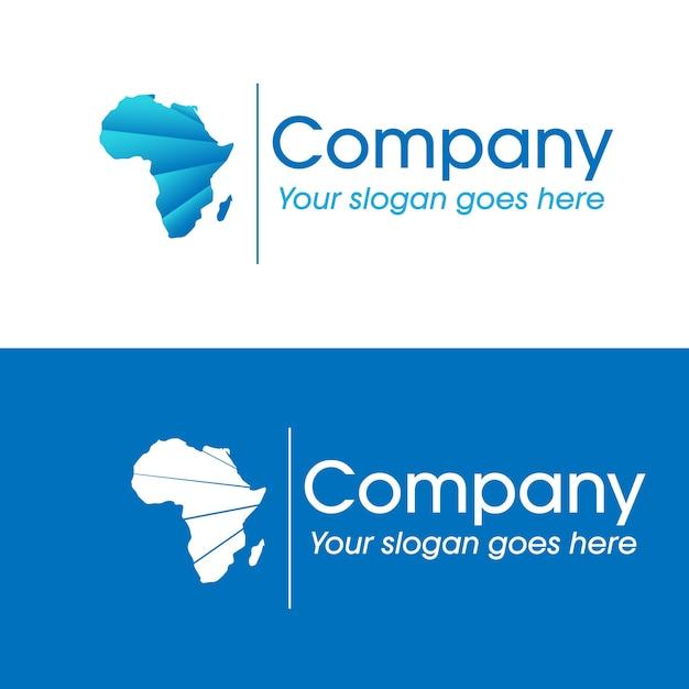 Logo de l'entreprise africaine Vecteur Premium