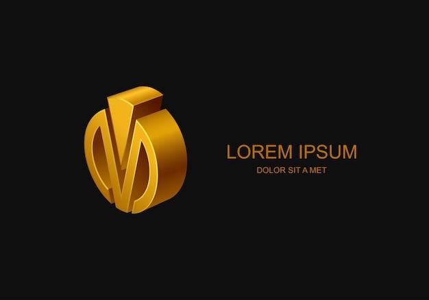 Logo D'entreprise, Idée De Logo D'entreprise Stylisée Abstraite, Vecteur Premium