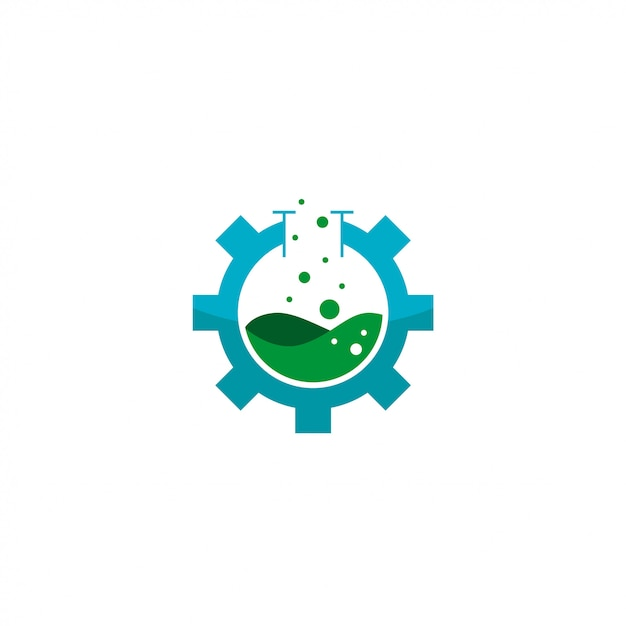 Logo industriel Vecteur Premium