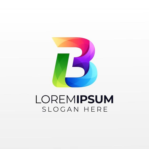 Logo De La Lettre B Vecteur Premium