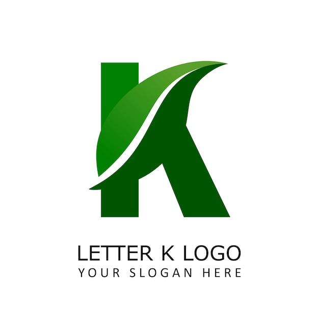 Logo de la lettre k nature | Télécharger des Vecteurs Premium
