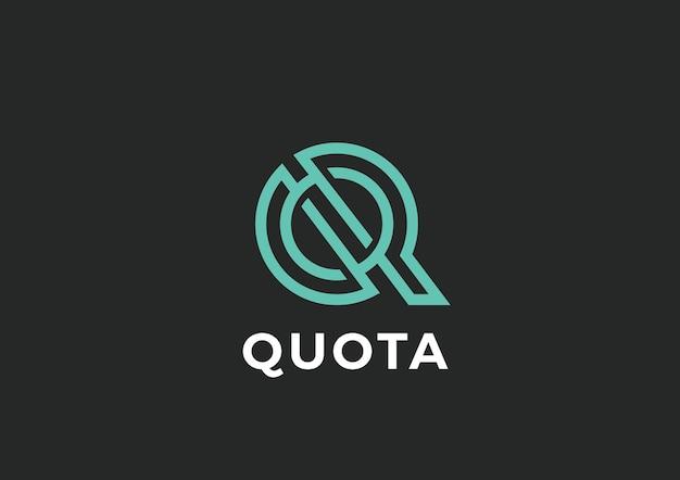 Logo De La Lettre Q. Vecteur gratuit