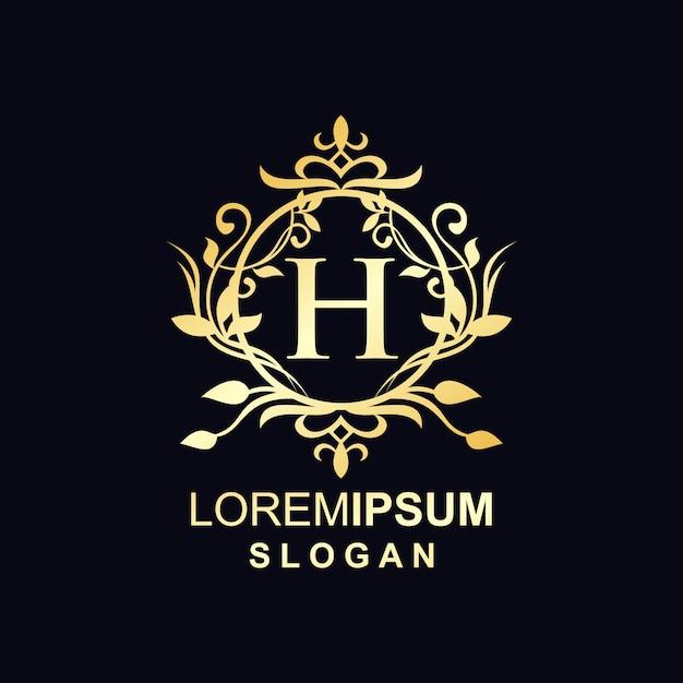 Logo De Luxe D'une Marque Vecteur Premium