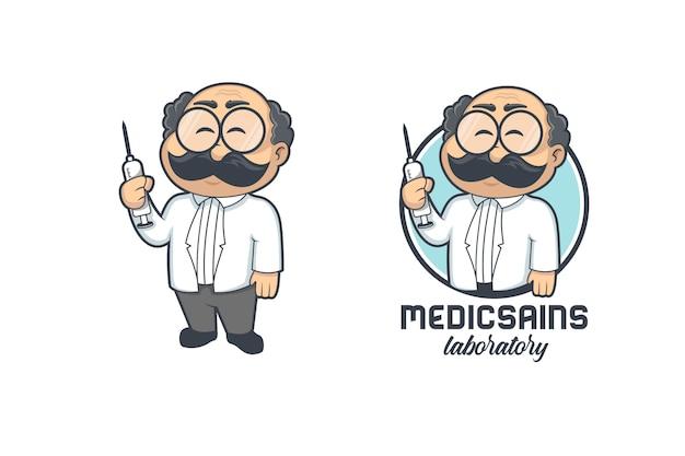 Logo De Médecin Professionnel Vecteur Premium
