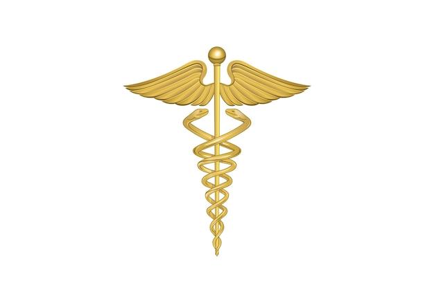 Logo médical de pharmacie Vecteur Premium