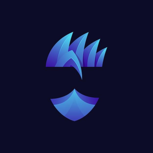Logo De Ninja Vecteur Premium