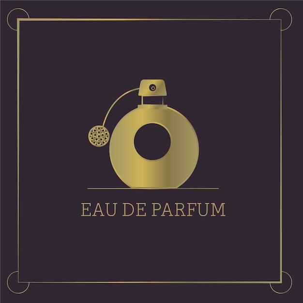 Logo De Parfum Avec Un Design De Luxe Vecteur gratuit