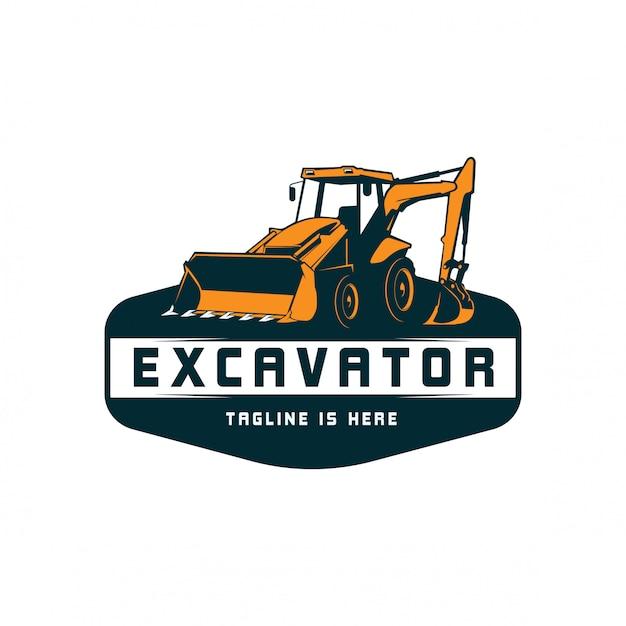 Logo de la pelle Vecteur Premium