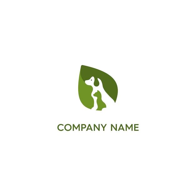 Logo pet en santé Vecteur Premium