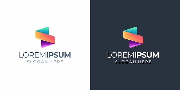 Logo s Vecteur Premium