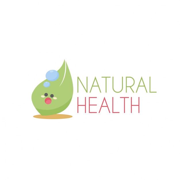 Logo De La Santé Vecteur Premium