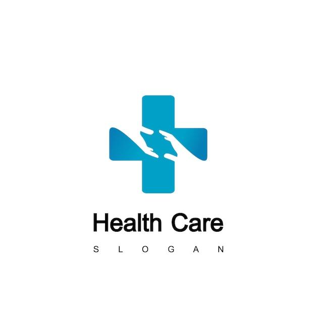 Logo de soins de santé Vecteur Premium
