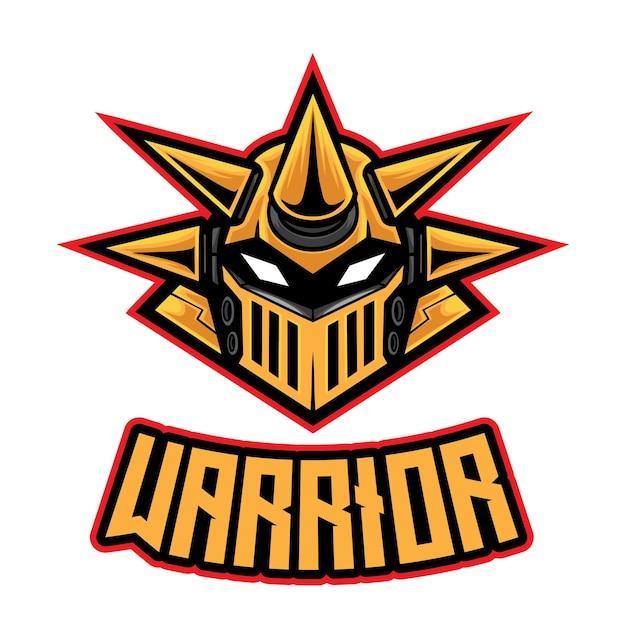 Logo De Spike Robot Warrior Esport Vecteur Premium