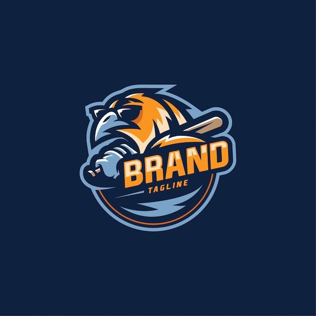Logo sport Vecteur Premium