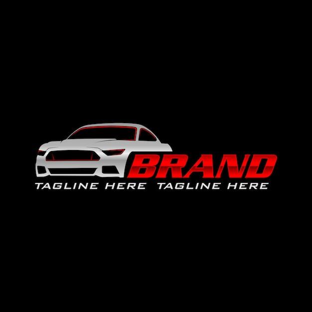 Logo de voiture Vecteur Premium