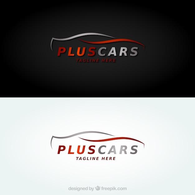 Logo de voitures Vecteur gratuit