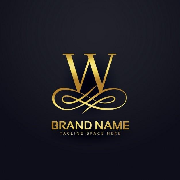 Orange Letter W Logo: Vecteurs Et Photos Gratuites