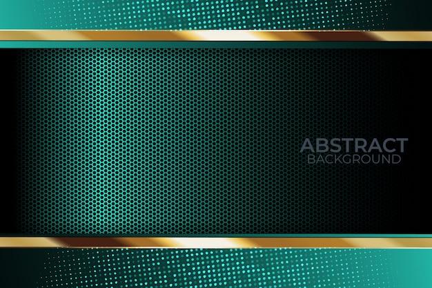 Lumière de fond de paillettes avec la technologie moderne de couleur abstraite Vecteur Premium
