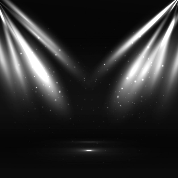 Lumière moderne Vecteur gratuit