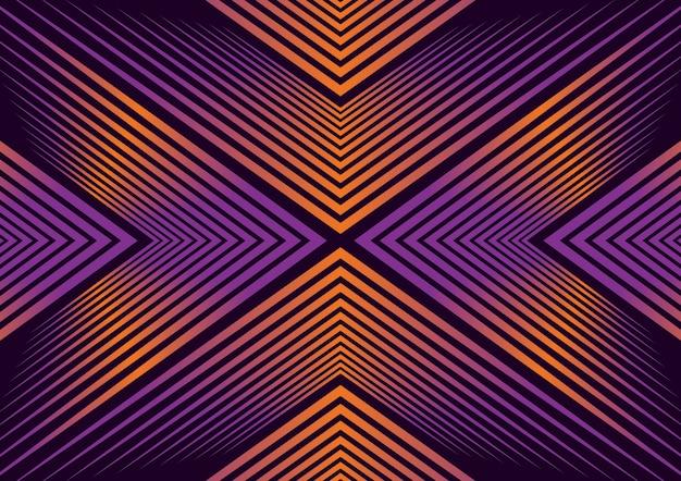Luxe abstrait géométrique moderne Vecteur Premium
