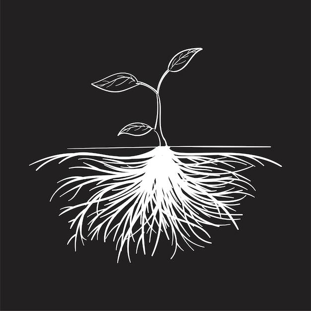 Main Dessin Illustration Du Concept De Développement Vecteur gratuit