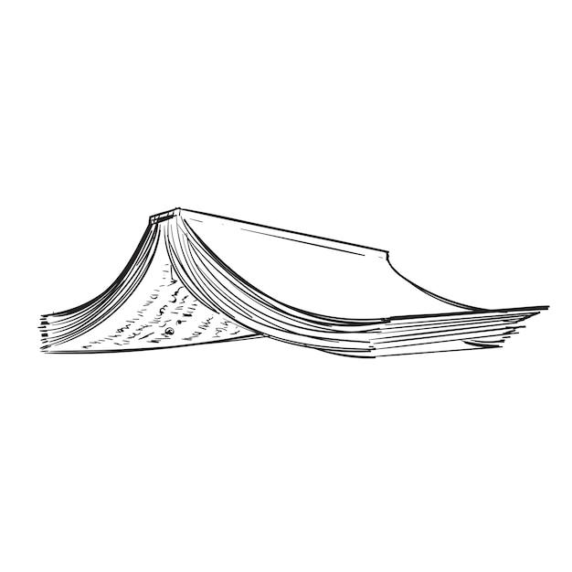 Main dessin illustration du concept de style de vie Vecteur gratuit