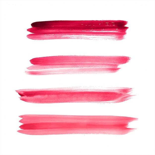 Main dessiner vecteur aquarelle coloré de trait Vecteur Premium