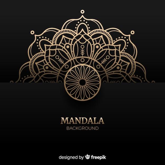 Mandala de luxe Vecteur gratuit