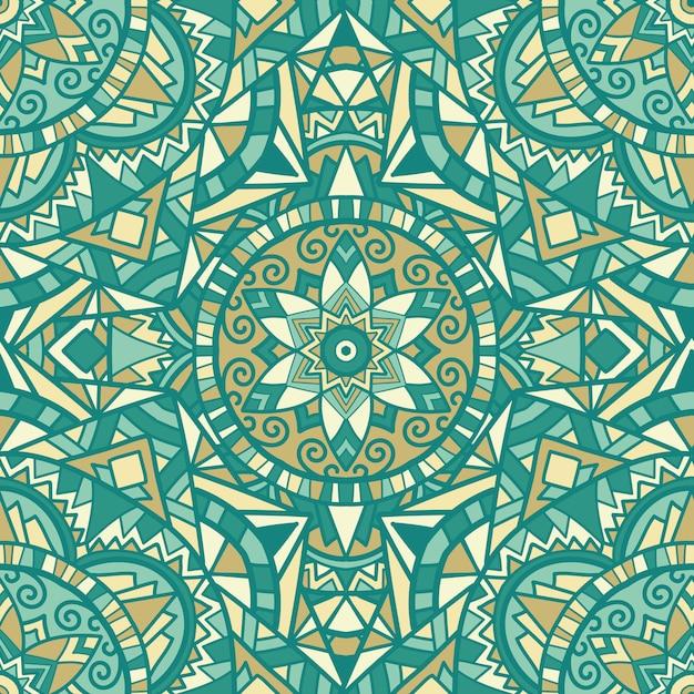 Mandala pour l'impression. ornement tribal. Vecteur Premium