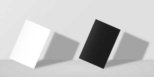 Maquette de carte de visite Vecteur Premium