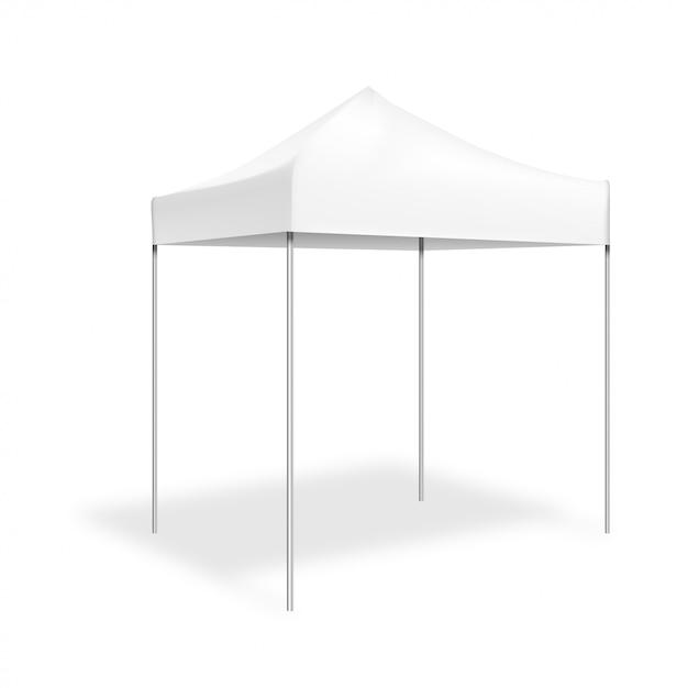 Maquette pop-up tent Vecteur Premium