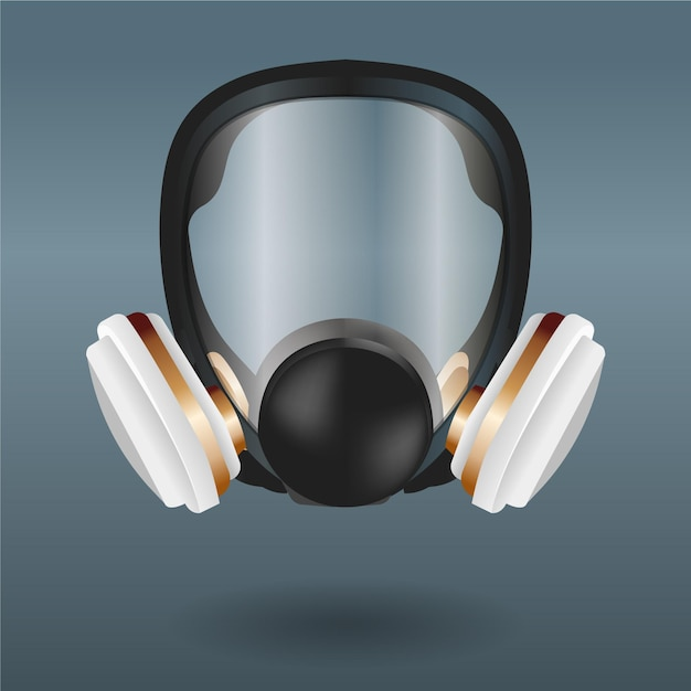 Masque Respiratoire à Gaz Vecteur gratuit