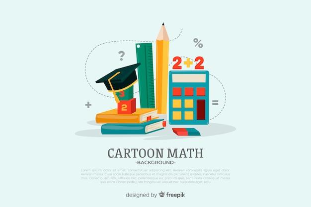 Mathématiques Vecteur Premium