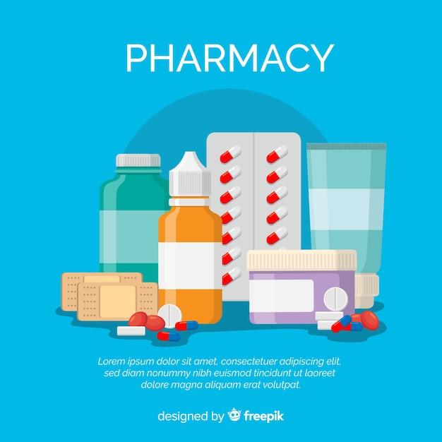 Des médicaments Vecteur gratuit